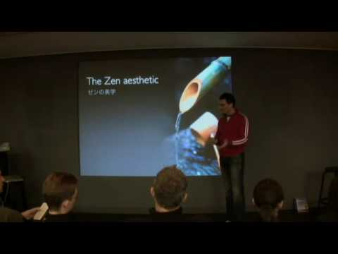 What is Presentation Zen? 9-min intro at Apple Store Japan, Feb 08