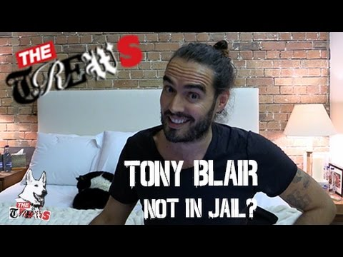 Tony Blair Not In Jail? I Literally Don't Understand: Russell Brand The Trews (E235)
