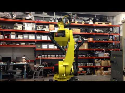 Fanuc R2000iA-165F spotwelding industrial robot