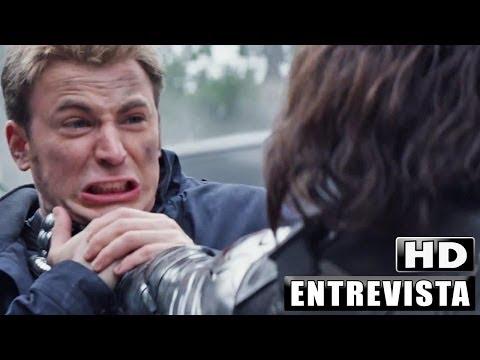 Capitán América El Soldado de Invierno Entrevista 2014 Subtitulado