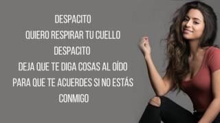 Despacito - Luis Fonsi ft. Justin Bieber (Talia Martinez Cover) / Lyrics