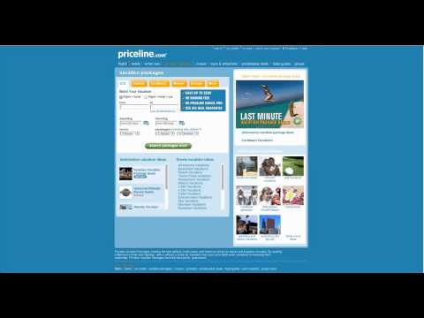 Learn how to use www.priceline.com website in simple steps.