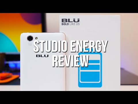BLU Studio Energy Review - A smartphone for battery lovers