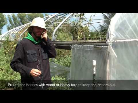 Carport To Greenhouse Conversion How To YouTube