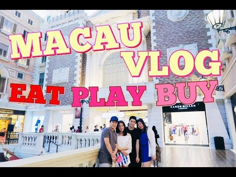 JM♡4傻遊澳門之食!買!玩!| Macau Vlog 2015