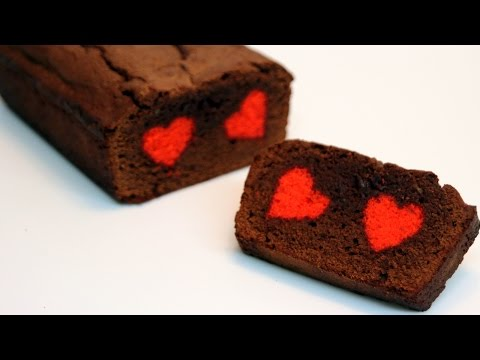 Chocolate Hidden Heart Cake Recipe