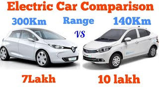 Tata Tigor EV Vs Renault Zoe EV || Which is better  || must watch