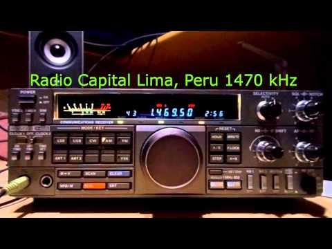 Radio Capital Lima - Peru - 1740 kHz