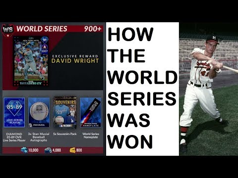 (Diamond Dynasty) We Made World Series! Reacting to the Heart Attack Game that Got Us There