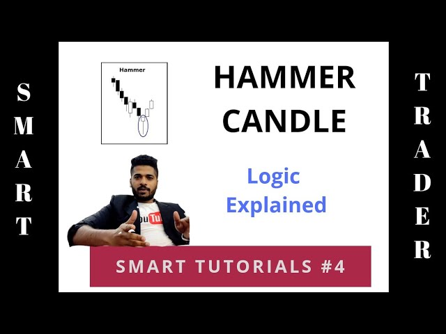 Hammer Candle Chart - Logic behind it - One candle pattern -  SMART Tutorials  4