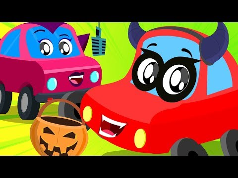 Its The Day of Halloween | The Ghosts They Love To Walk | Little Red Car