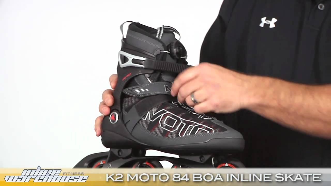 Inline Skates k2 Moto 90 k2 Moto 84 Boa Inline Skates