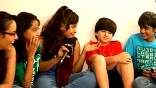 Parvarish Kids playing pranks on each other -  - Behind the Scenes