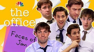 Jim Halpert's Many Faces - The Office (Mashup)