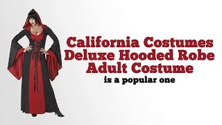 California Costumes Deluxe Hooded Robe Adult Costume Review
