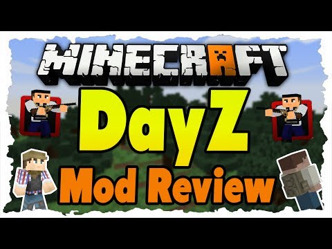 Minecraft DayZ Mod 1.7.2 Review - DayZ in Minecraft! [Deutsch HD+]