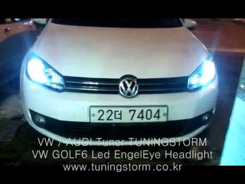 led scheinwerfer vw golf 6 variant images. Black Bedroom Furniture Sets. Home Design Ideas