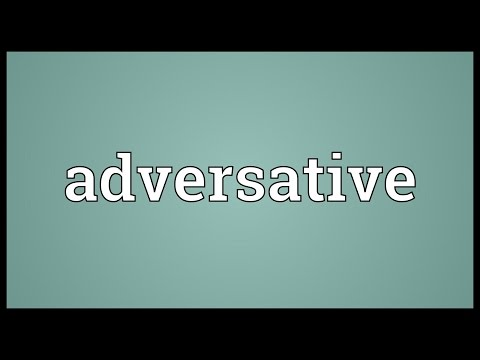 Header of adversative