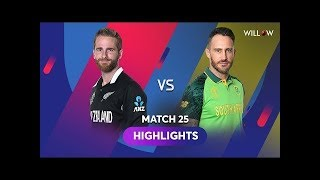 | South Africa vs Newzeland highlights |Cricket Worldcup 2019| Sa vs nzl full match highlights