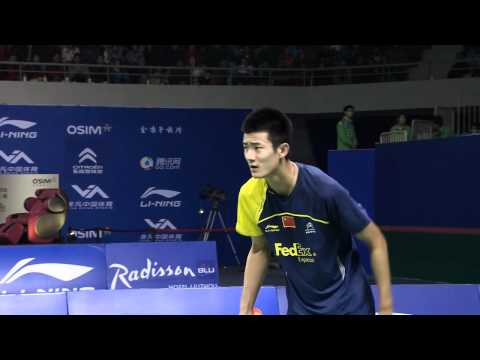 2011 OSIM BWF World Superseries Finals-MS-Finals-Dan Lin vs. Long Chen