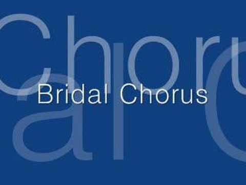 Wagner's Bridal Chorus video