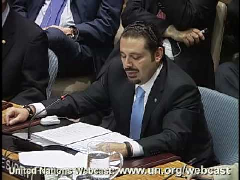 Saad Hariri, Prime Minister of Lebanon on the Intercultural Dialogue for Peace and Security