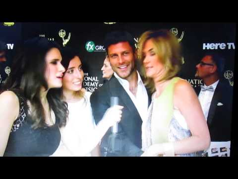 Greg Vaughan and Kassie DePaiva on the Red Carpet Daytime Emmys 2014 001