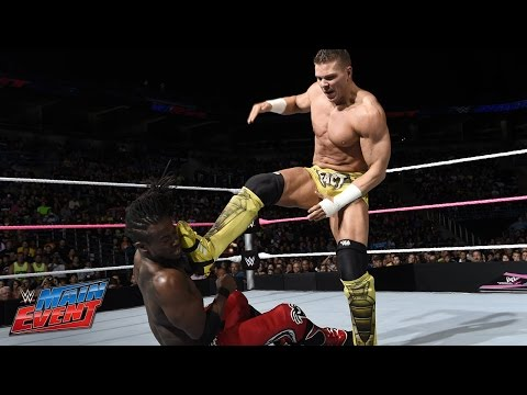 Kofi Kingston Vs. Tyson Kidd: Wwe Main Event, Sept. 30, 2014 video