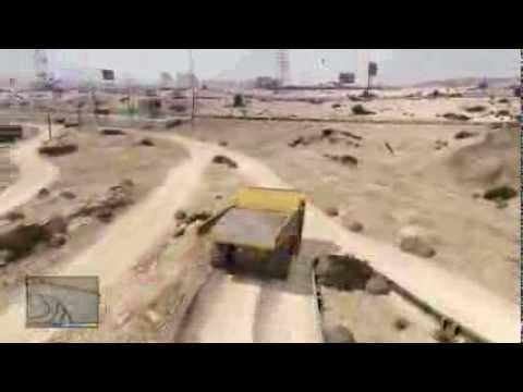 Gta 5 Dump Truck Location Gta 5 Secret Vehicle Location