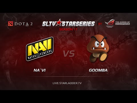 NAVI  vs  Goomba Starladder XI  Europe Day 11