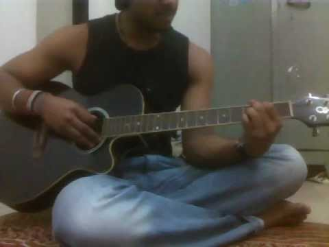 o sanam by lucky ali on guitar for beginners...