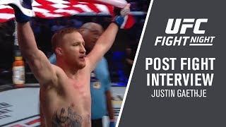 "UFC Philadelphia: Justin Gaethje - ""You Have To Believe In Yourself"""