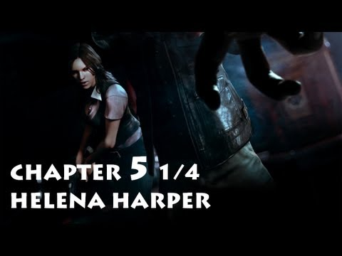 Resident Evil 6 - Helena Chapter 5 Part 1/4 ・ Leon's Campaign Co-op