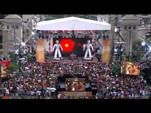 Biggest Flash Mob In Chicago (usa) 2009 video