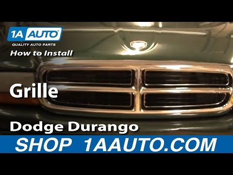 How To Install Replace Grille Dodge Durango Dakota 98-03 1AAuto.com