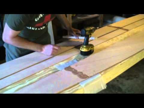 Kayak stitch and glue. - YouTube