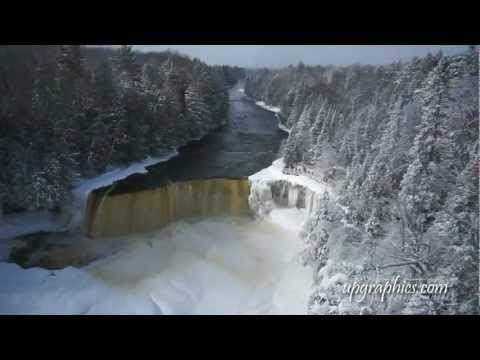 Tahquamenon Falls (WINTER) by upgraphics.com