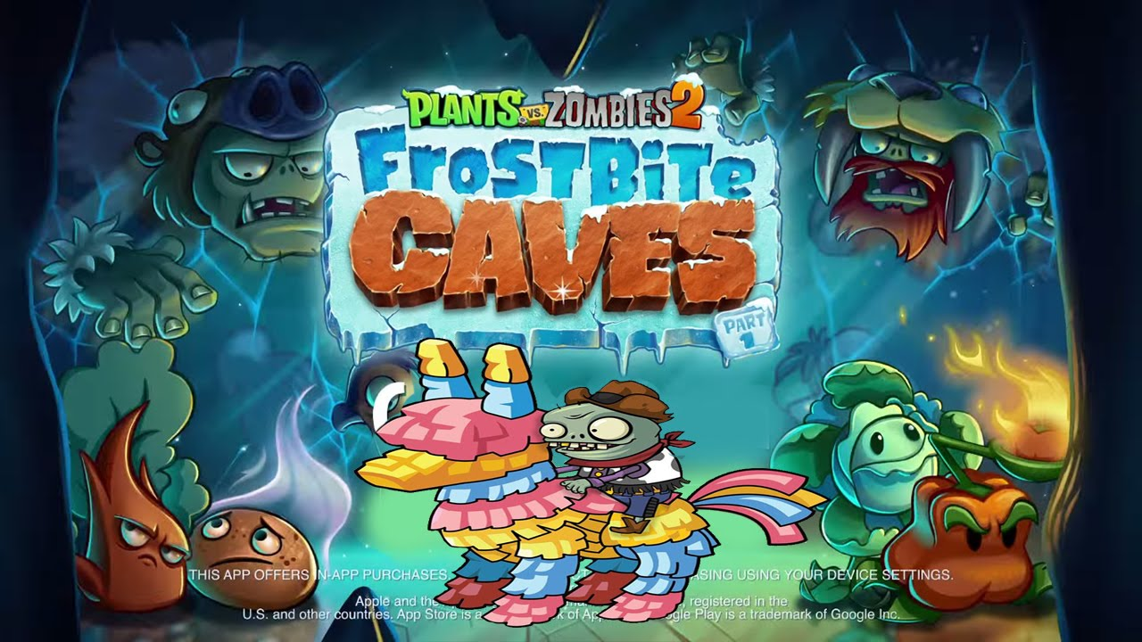 Plants Vs Zombies 2 Frostbite Caves Sneak Peek 3 Youtube