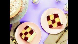 Norpro Checkerboard Cake