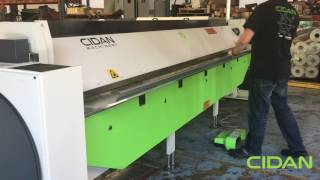 CIDAN Machinery - K25-40 Combi Folder forming 0.050AL radius part