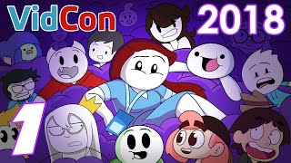 ANIMATION INVASION: VidCon 2018 Recap PART 1