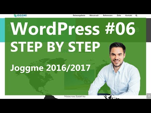 WordPress Tutorial German / Deutsch - Website Erstellen 2016