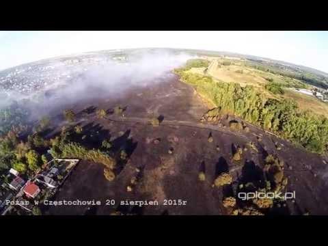 Pożar W Częstochowie 20 Sierpień 2015r