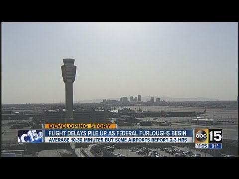 FAA furloughs cause airport delays