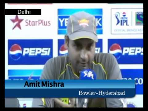 Sunrisers Hyderabad post match press conference12042013