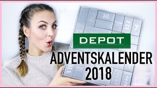 DEPOT Adventskalender 2018 unboxing deutsch