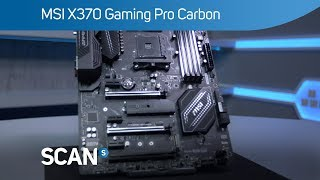MSI X370 Gaming Pro Carbon Motherboard - Overview