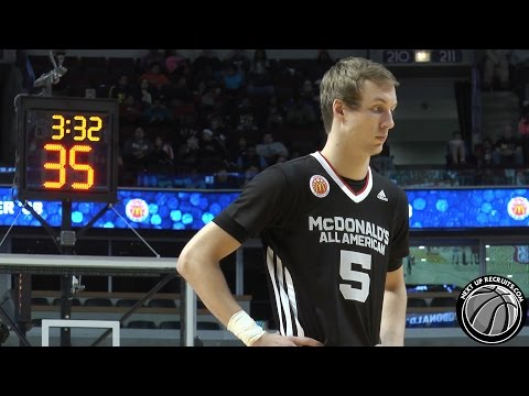 Luke Kennard LIGHTS UP 2015 McDonald's All-American Game - Future Duke Blue Devils SG