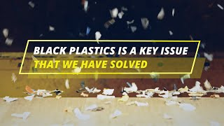 STEINERT UniSort sorting technology for black plastics closes the gap between waste and new goods