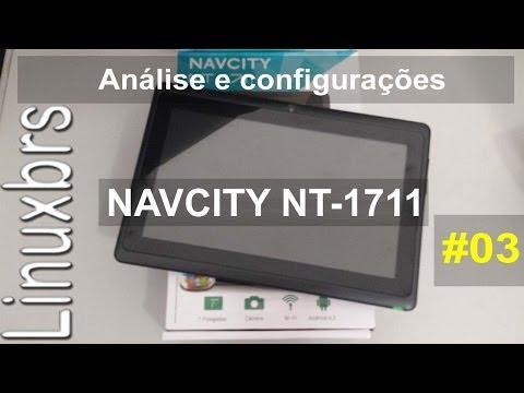 Navcity NT-1711 - Análise e configurações  PT-BR - Brasil